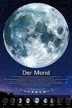 1art1 Der Weltraum - Der Mond Selbstklebende