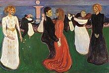 1art1 Edvard Munch - Der Tanz des Lebens, 1899