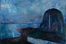 1art1 Edvard Munch - Sternennacht, 1893
