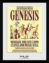 1art1 Genesis - Cleveland Gerahmtes Bild Mit Edlem