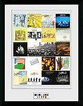 1art1 Genesis - Collage Gerahmtes Bild Mit Edlem
