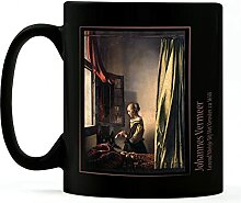 1art1 Johannes Vermeer, Brieflesendes Mädchen Am