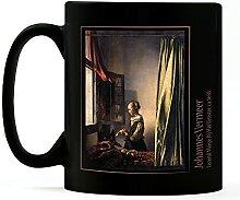 1art1 Johannes Vermeer - Brieflesendes Mädchen Am