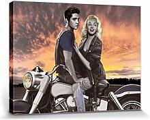 1art1 Joshua M. Nelson - Marylin Monroe Und Elvis