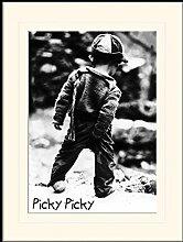 1art1 Kinderwelten - Picky Picky Gerahmtes Bild