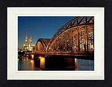 1art1 Köln - Hohenzollernbrücke Und Kölner Dom