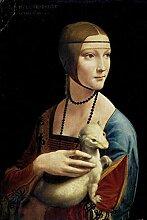 1art1 Leonardo Da Vinci - Dame Mit Dem Hermelin,