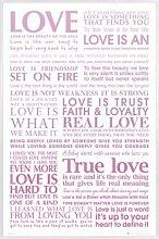 1art1 Liebe Poster und Kunststoff-Rahmen - Echte