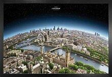 1art1 London Poster und MDF-Rahmen - Besuchen Sie