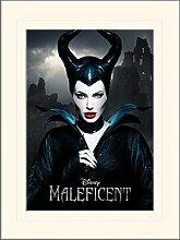 1art1 Maleficent - Dark Gerahmtes Bild Mit Edlem