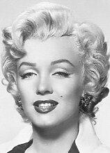 1art1 Marilyn Monroe - Portrait 4-teilig