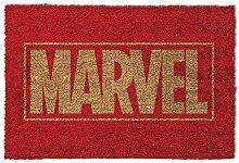 1art1 Marvel Comics - Logo | Fußmatte