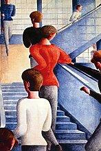 1art1 Oskar Schlemmer - Bauhaustreppe, 1932