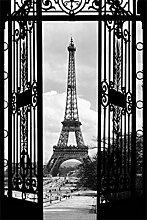 1art1 Paris, Blicke Auf Den Eiffelturm Durch