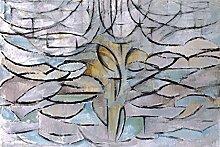 1art1 Piet Mondrian - Blühender Apfelbaum, 1912