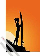 1art1 Schöne Frauen Poster (91x61 cm) Surferin