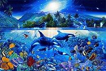 1art1 Set: Unterwasserwelt, Orkas, Majestätische