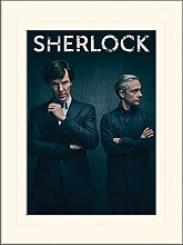 1art1 Sherlock - Wall Gerahmtes Bild Mit Edlem