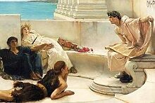 1art1 Sir Lawrence Alma-Tadema - Eine Lesung Aus