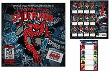 1art1 Spider-Man, Offizieller Kalender 2021 (30x30