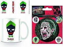 1art1 Suicide Squad, Joker Totenkopf Foto-Tasse