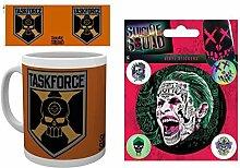 1art1 Suicide Squad, Task Force X, Totenkopf Logo
