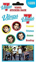 1art1 The Vamps, Mix, 24 Stickers Aufkleber Pack
