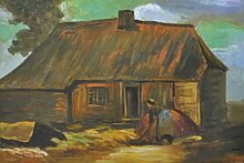 1art1 Vincent Van Gogh - Bauernhaus Mit