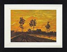 1art1 Vincent Van Gogh - Landschaft Bei