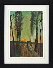 1art1 Vincent Van Gogh - Pappelallee Bei