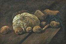 1art1 Vincent Van Gogh - Stillleben Mit Kohl Und