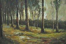 1art1 Vincent Van Gogh - Waldrand, 1882