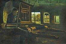 1art1 Vincent Van Gogh - Weber In Einem Raum Mit