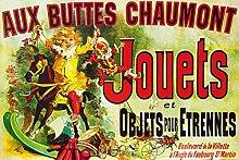 1art1 Vintage - Aux Buttes Chaumont, Jouets Et