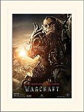 1art1 Warcraft - Blackhand Gerahmtes Bild Mit