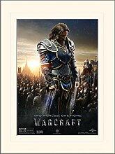 1art1 Warcraft - Lothar Gerahmtes Bild Mit Edlem