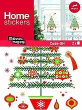 1art1 Weihnachten - Geschmückter Tannenbaum Mit
