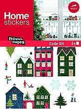 1art1 Weihnachten - Weihnachtliche Häuser,