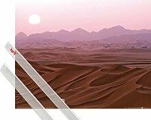 1art1 Wüsten Poster (50x40 cm) Sonnenuntergang