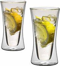 1aTTack.de 833239 Trink/Thermo-Glas 300 ml XXL