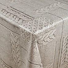 1buy3 Wachstuch   Viele Farben, Muster und Längen   Tischdecke Biertischdecke mit Fleecerücken (Wolldecke Grau, 250cm x 140cm)