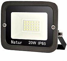 1er 20W LED Strahler Außen Superhell LED Fluter