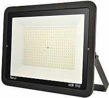 1er 400W LED Strahler Außen Superhell LED Fluter