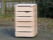 1er Mülltonnenbox / Mülltonnenverkleidung 120 L
