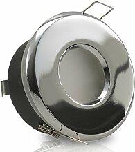 1er Set 230V LED Decken Einbaustrahler MERANO