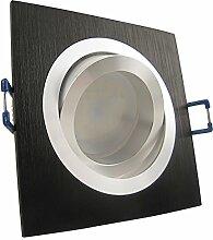 1er Set 230V LED Decken Einbaustrahler NOBLE S1