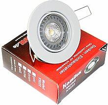 1er Set Einbaustrahler Mia 5W Power LED 230V