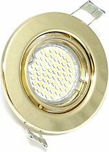 1er Set Einbaustrahler Mia IP20 GU10 60er SMD LED