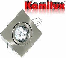 1er Set LED Einbaustrahler Max-Square Farbe