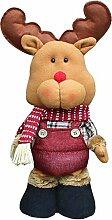 1er Skalierbare Weihnachten Puppe Weihnachtswichtel Deko Figur Spielzeug nette Geschenk für Kinder, #3